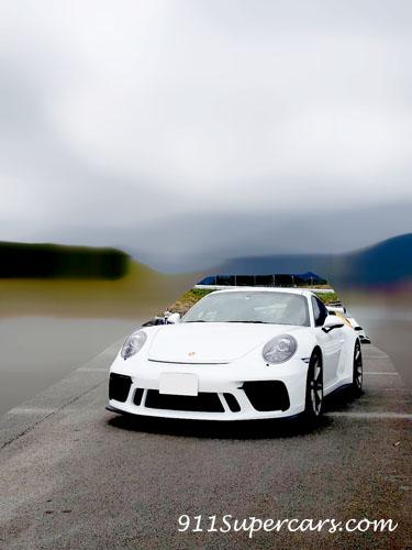 ポルシェ GT3 991.2 91後期 ホワイト