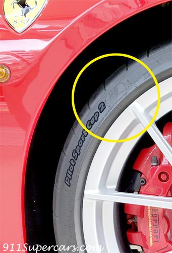 フェラーリ承認タイヤ 488ピスタ 488PISTA ミシュラン パイロットスポーツカップ2