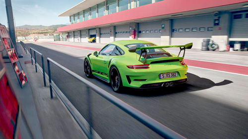 Porsche911 GT3RS ポルシェ GT3RS リザードグリーン