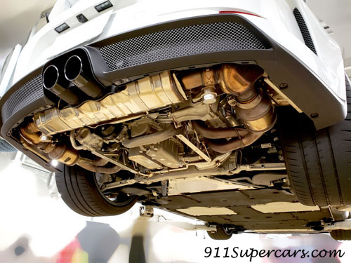 ポルシェ GT3 991.2 ディフューザー 取り外し