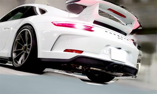 ポルシェ GT3 991.2 ディフューザーなし