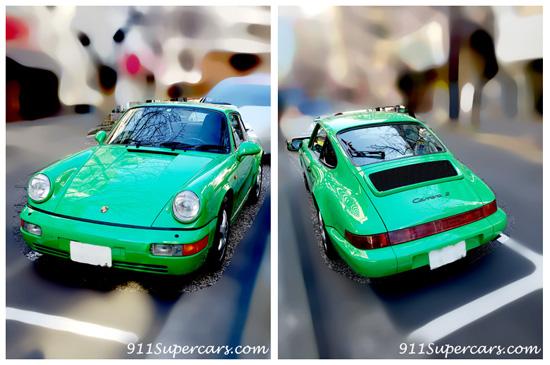 ポルシェ911 空冷ポルシェ911 空冷ポルシェ 緑のポルシェ ポルシェ964