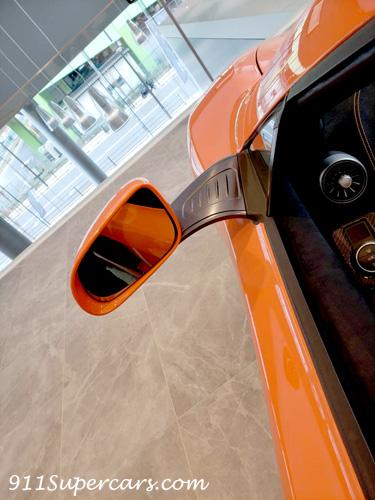 Mclaren マクラーレン 認定中古車 有明テクニカルセンター 650S サイドミラー