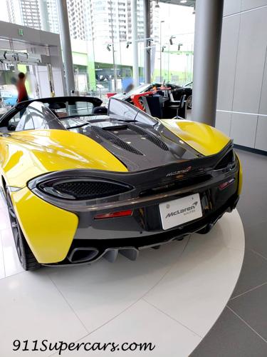Mclaren マクラーレン 認定中古車 有明テクニカルセンター 570S リア